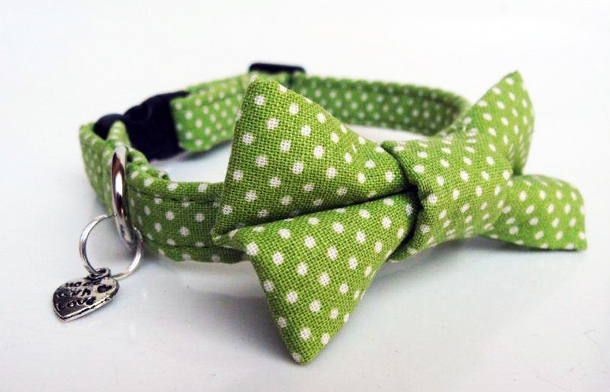 Top_Pooch_Vintage_Mini_Dot_Cat_Collar_Green.jpg